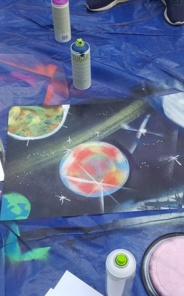 Stencil Graffiti 3