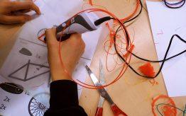 3D printerpen workshop op school