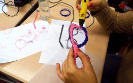Workshop 3D printerpen op school 1