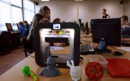 Workshop 3D printen op school 4