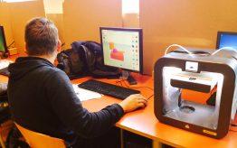 Workshop 3D printen op school 5