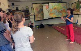 Workshop Acrobatiek op school 1