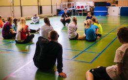 Workshop Battle Dance op school 10