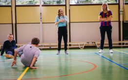 Workshop Battle Dance op school 14