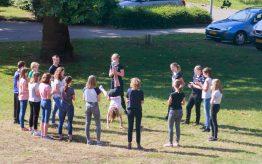 Workshop Capoeira op school 1