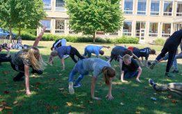 Workshop Capoeira op school 12