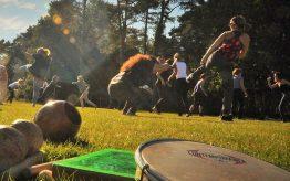 Workshop Capoeira op school 19