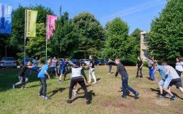 Workshop Capoeira op school 6