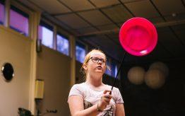 Workshop Circus op school 18