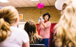 Workshop Circus op school 8
