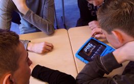 Workshop Filmtechniek op school 2
