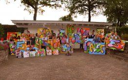 Workshop Graffiti Tags op school 1