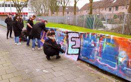 Workshop Graffiti Tags op school 2