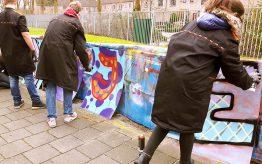 Workshop Graffiti Tags op school 3