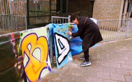 Workshop Graffiti Tags op school 4