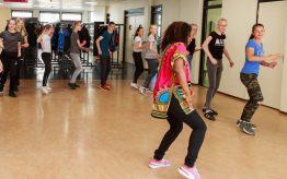 Workshop Hiphopdance op school 2