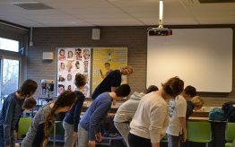 Workshop Hiphopdance op school 4