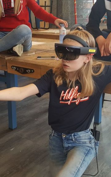 Workshop Hololens op school 6