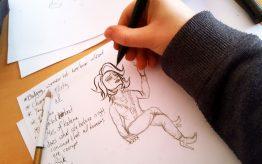 Workshop Illustratie op school 4