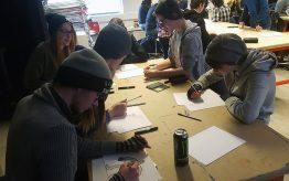 Workshop Illustratie op school 5