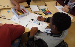 Workshop Illustratie op school 6