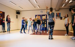 Workshop Moderne Dans op school 1