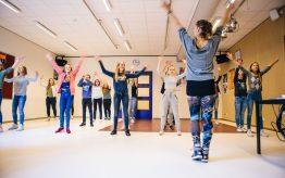 Workshop Moderne Dans op school 2