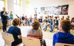 Workshop Slapstick op school 16