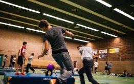 Workshop Stage Fighting op school 1