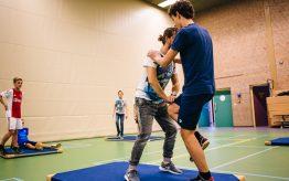 Workshop Stage Fighting op school 3