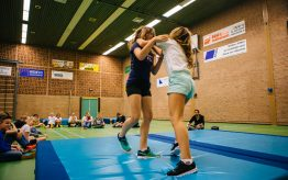 Workshop Stage Fighting op school 4