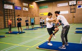 Workshop Stage Fighting op school 5