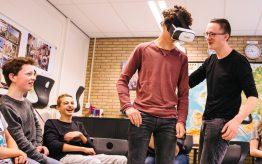 Workshop Virtual Reality op school 4