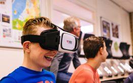 Workshop Virtual Reality op school 7