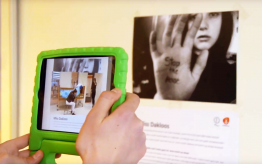 Workshop augmented reality op school 2
