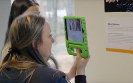 Workshop augmented reality op school 4