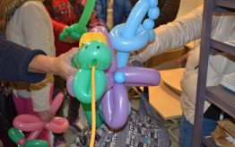 Workshop ballon modelleren op school 2