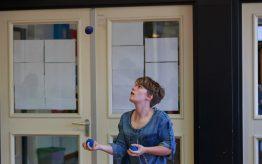 Workshop jongleren op school 1