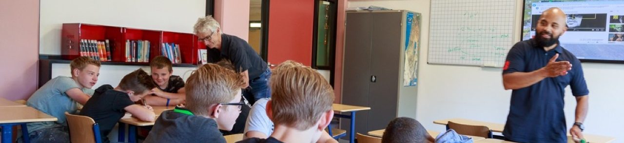 CKV activiteiten spoken word school