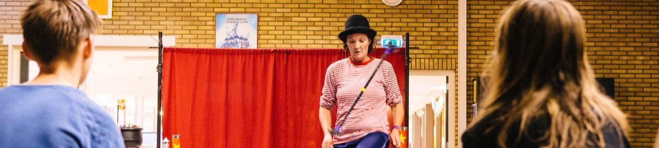 Kunstdisciplines CKV Workshop Circus