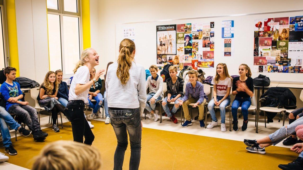 Workshop school onderwijs Theatersportbattle 1