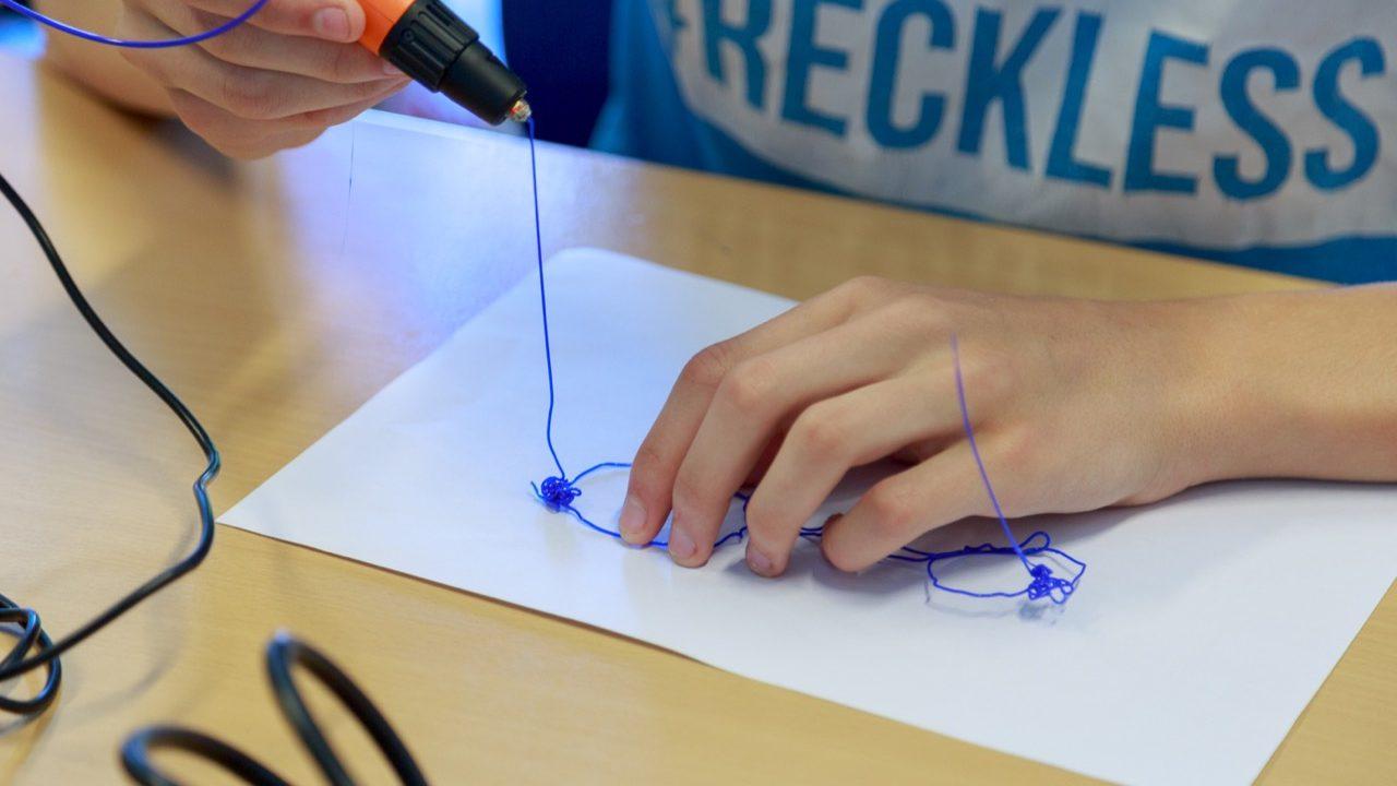 Workshop school onderwijs 3D pen tekenen