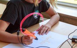 Workshop school onderwijs 3D pen tekenen 3