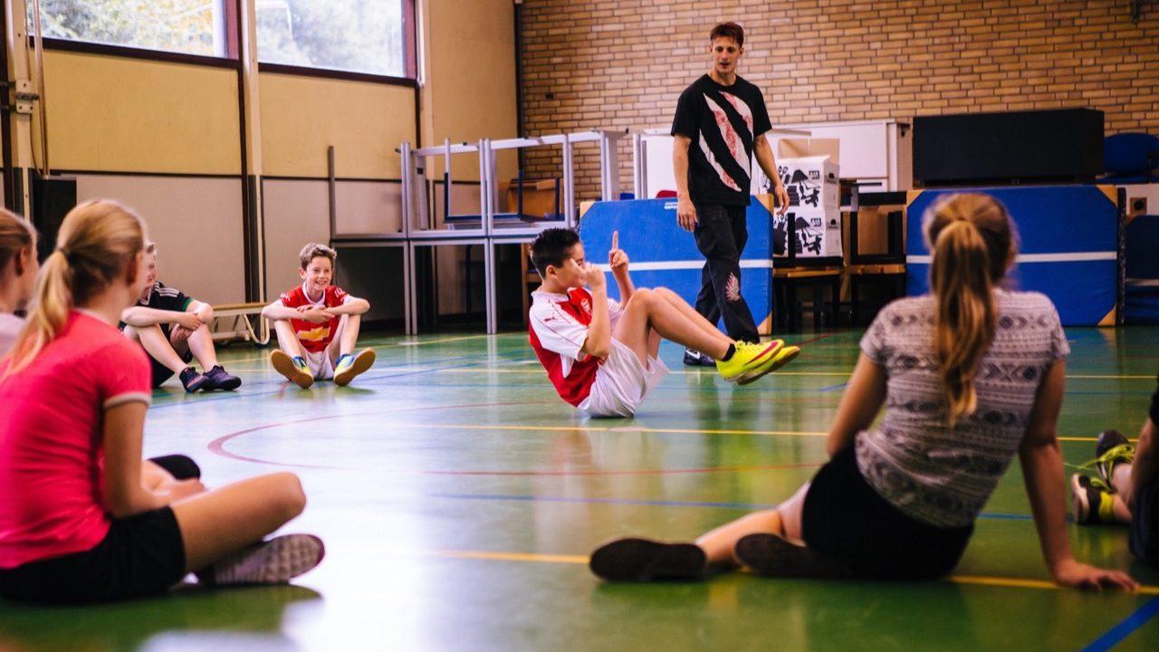 Workshop school onderwijs Battle Dance 2