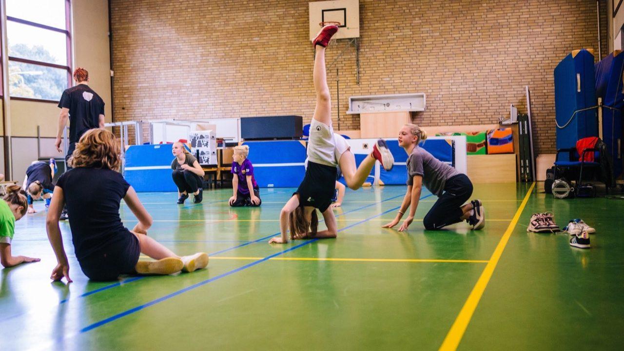Workshop school onderwijs Breakdance