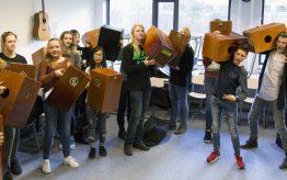 Workshop school onderwijs Cajon