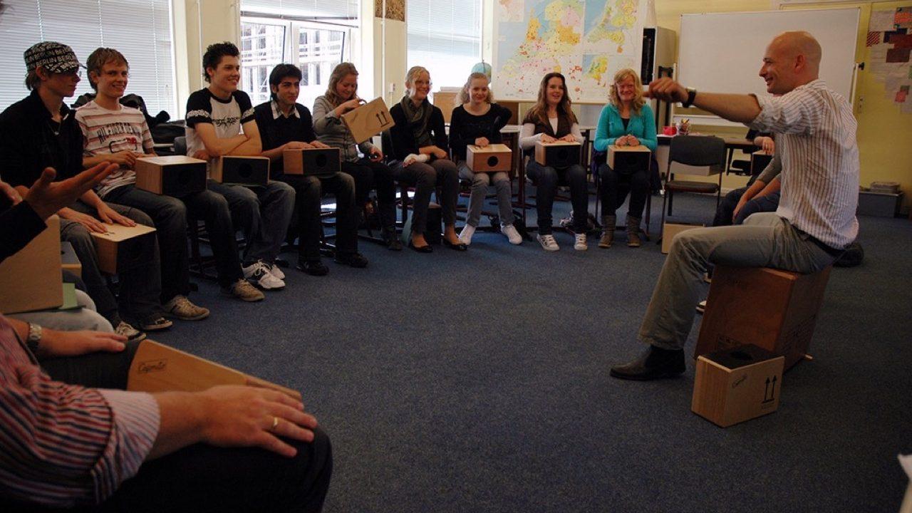 Workshop school onderwijs Cajon 4