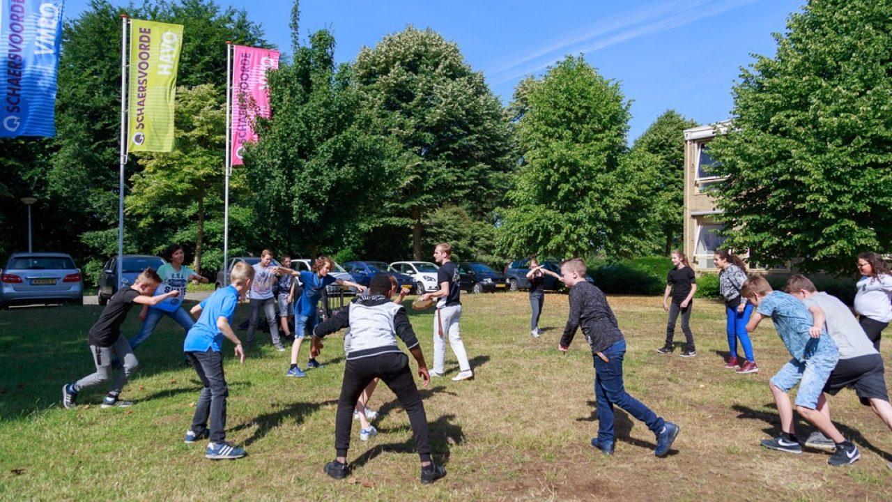 Workshop school onderwijs Capoeira 6