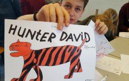 Workshop school onderwijs Cartoontekenen 4