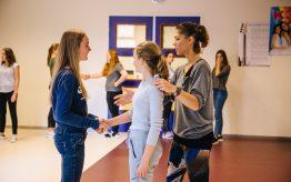 Workshop school onderwijs Choreografie